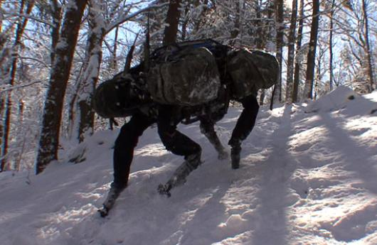 Robot BigDog de Boston Dynamics