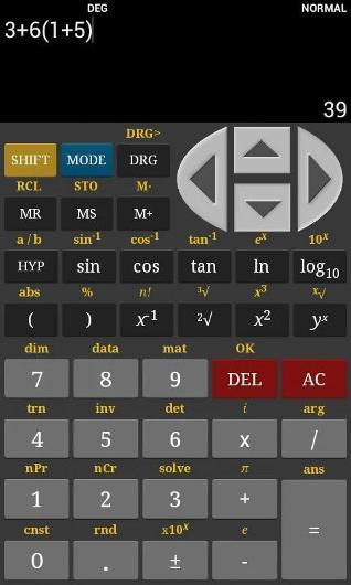 Calculadora científica para Android