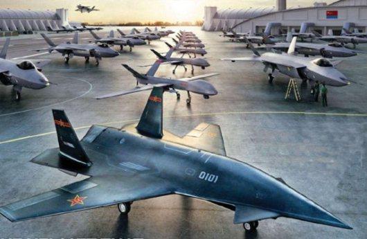 Aviones chinos