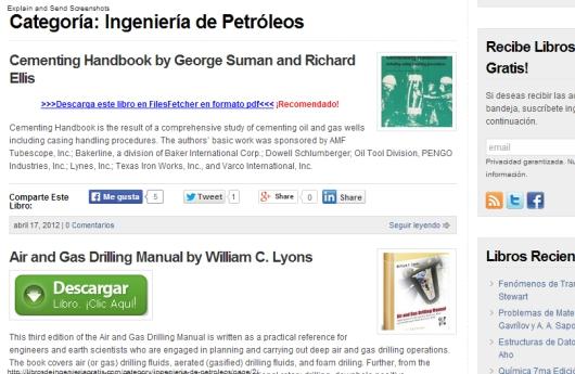 Libros de ingeniería gratis