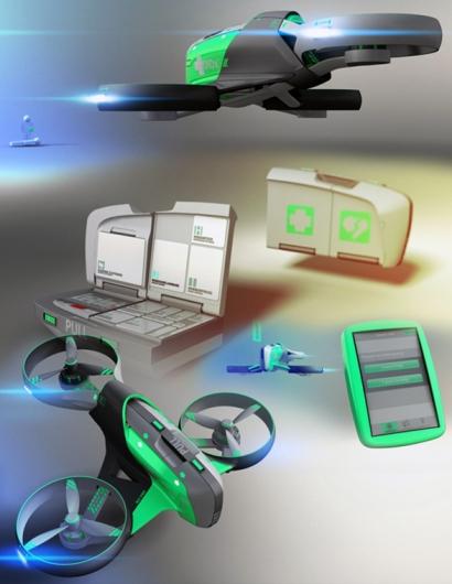 Smart AID drone