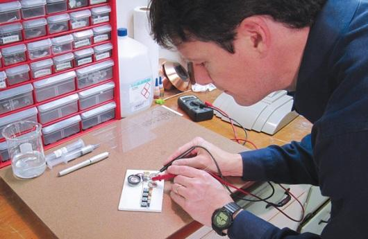 Fabricación de tinta conductiva