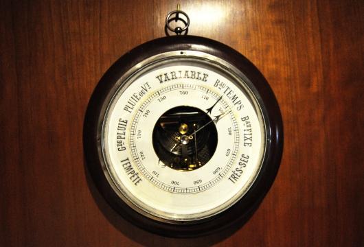 La anécdota del barómetro
