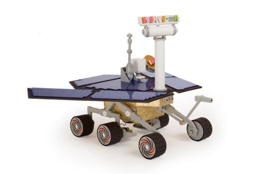 Kit para armar un Mars Rover