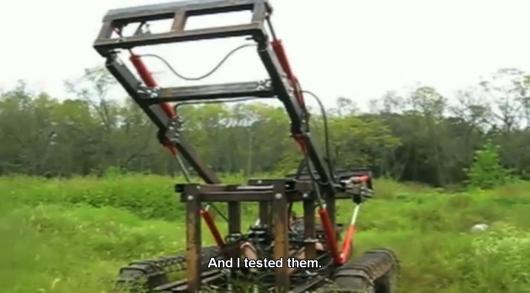 Tractor de bajo costo