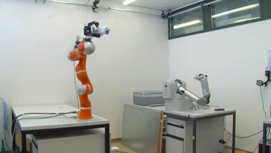 Brazo robótico ultraveloz