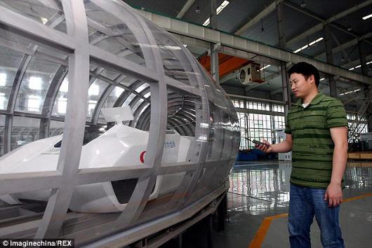 Proyecto tren super-maglev