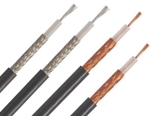 Cables coaxial de cobre