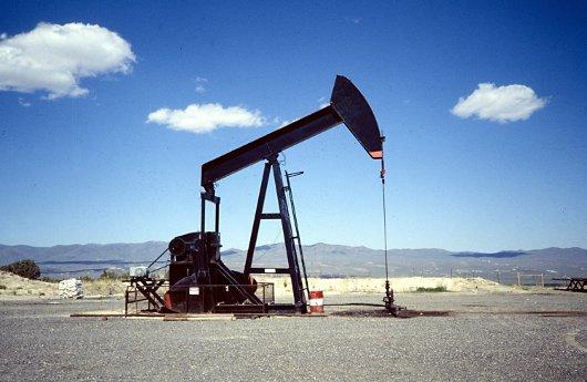 Extracción de petroleo en tierra