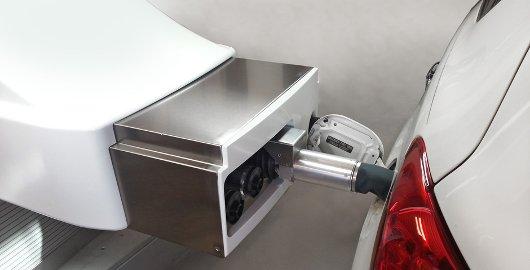 Robot despachador de combustible