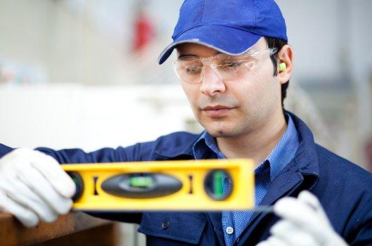 Ingeniero trabajando