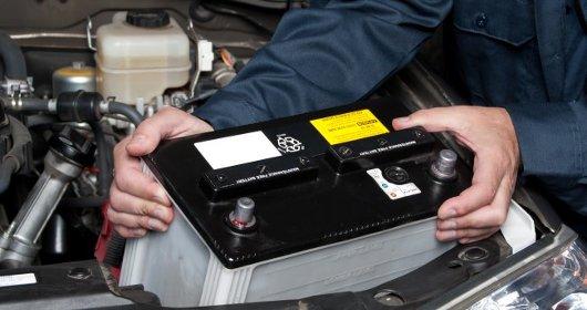 Baterías en los vehículos