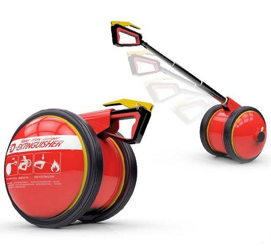 O-Extinguisher, diseño conceptual de extintor