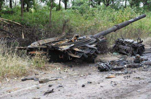 Tecnología militar destruida
