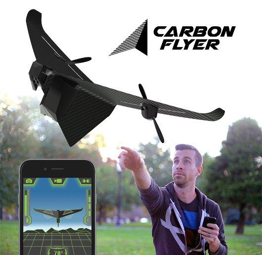 Carbon Flyer, avión de juguete