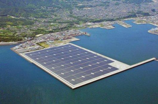 Proyecto de planta solar flotante