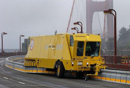 Zipper Truck del Golden Gate